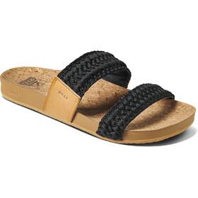 Reef Cushion Vista Thread Sandals Women, negro/marrón